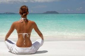 Yoga bequem zu Hause