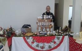 Weihnachts-Markt mit natϋrlichen Produkten