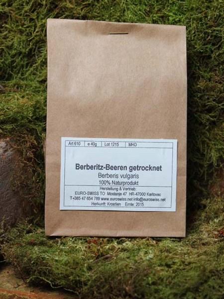 Berberitzen Beeren getrocknet