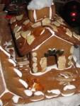 an Weihnachten mit Liebe ein Hexenhaus backen