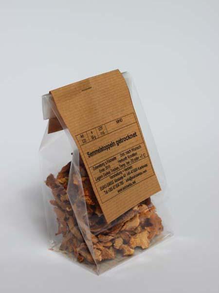 Semmelstoppel Pilze getrocknet