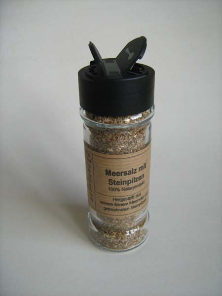 Pilz-Salz Meersalz mit Steinpilzen