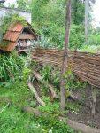 Kostenlos Garten gestalten DIY Flechten - Der einfache Weg fertige Haselrutenwand