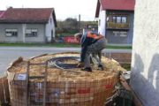 Heizen mit Biomasse - DIY mit wenig Geld Heizung bauen (Teil 1/4) richten der Leitungen