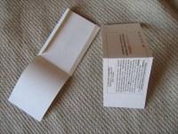 Samentüten selber machen - Samentüten-Vorlagen Gratis herunterladen erste Falten von Tuete