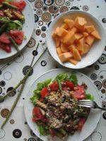 Rohkost Salat Mediteran