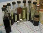naturreines Johanniskraut-Elixier an der Messe probieren