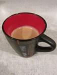 1 Tasse Espresso trinken nach diesem langen Schreiben