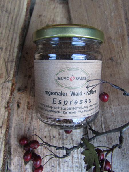Wald Kaffee aus der Region