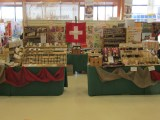 unser Messestand in Wieselbur hier