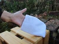 hautberuhigender Handschuh