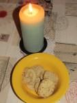 romantisch bei Kerzenlicht Butterkekse knabbern - aber Wo ist der Kaffee?
