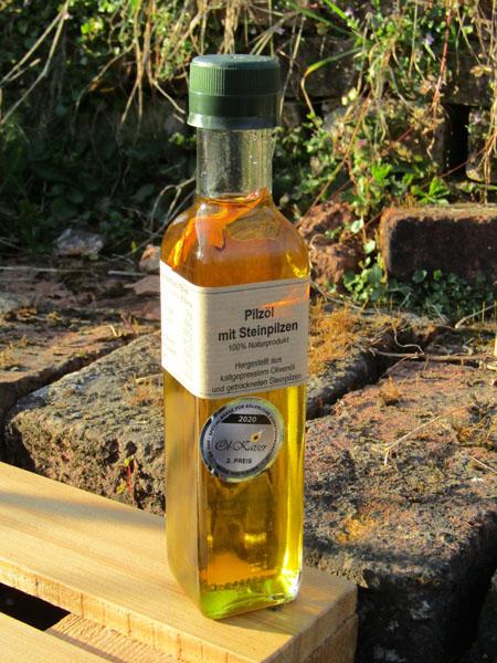 Pilz Öl Steinpilz