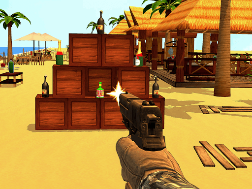 Bottle Shooting Training Range Target Smashing 1.07 cheathackgameplayapk modresources generator 3