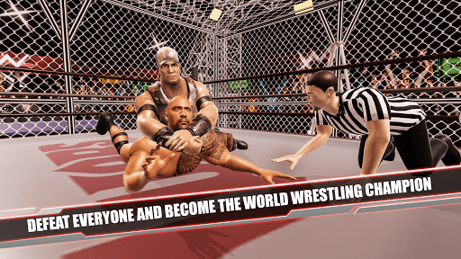 Cage Revolution Wrestling World Wrestling Game 1.3 cheathackgameplayapk modresources generator 3