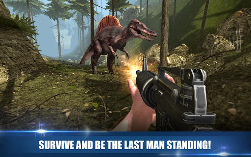 Dinosaur Hunter Free Survival Game 1.1 cheathackgameplayapk modresources generator 2