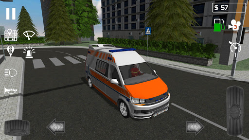 Free Download Emergency Ambulance Simulator 1 0 2 APK, APK MOD