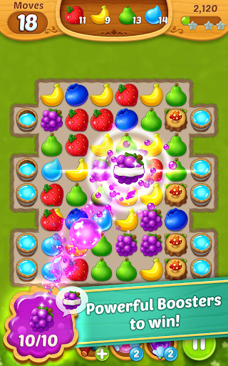 Fruits Mania Fairy rescue cheathackgameplayapk modresources generator 1