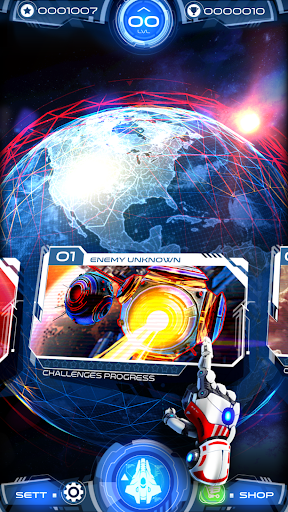 Galaxy Warrior Space Battles 1.0.1 cheathackgameplayapk modresources generator 2