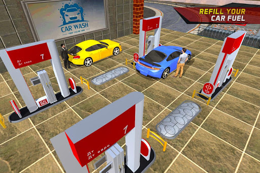 Gas Car Station Services Highway Car Driver 1.0 cheathackgameplayapk modresources generator 1