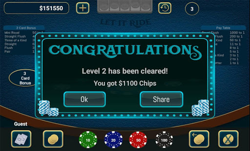 Let It Ride Poker cheathackgameplayapk modresources generator 4