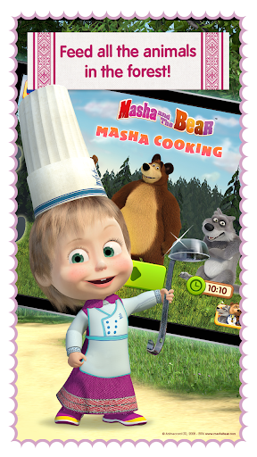 Masha and Bear Cooking Dash cheathackgameplayapk modresources generator 4