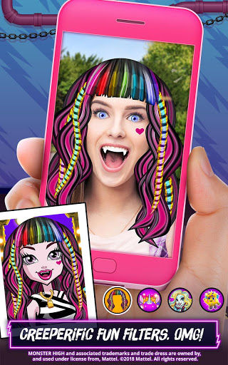 Monster High Beauty Shop Fangtastic Fashion Game 1.1.9 cheathackgameplayapk modresources generator 5