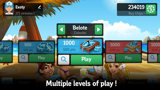 Multiplayer Belote amp Coinche cheathackgameplayapk modresources generator 4