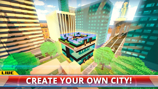 New York City Craft Blocky NYC Building Game 3D 1.2 cheathackgameplayapk modresources generator 3