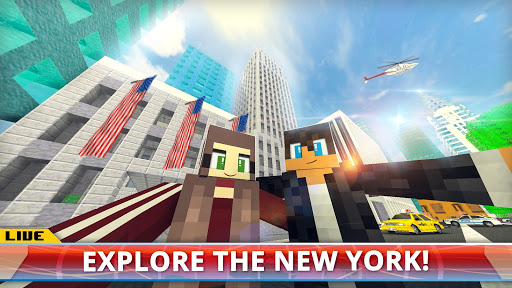 New York City Craft Blocky NYC Building Game 3D 1.2 cheathackgameplayapk modresources generator 5