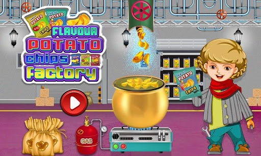 Potato Chips Factory Games – Delicious Food Maker 1.0.3 cheathackgameplayapk modresources generator 1