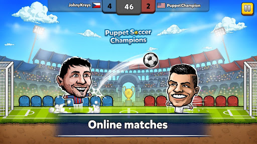 Puppet Soccer Champions League cheathackgameplayapk modresources generator 1