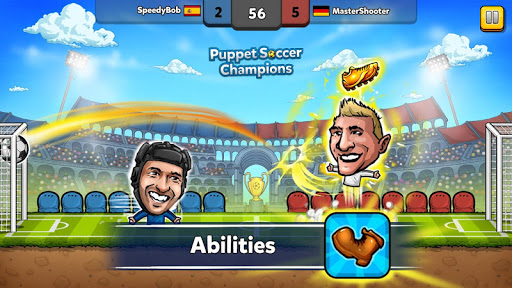 Puppet Soccer Champions League cheathackgameplayapk modresources generator 3