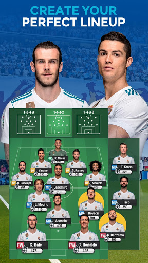 Real Madrid Fantasy Manager18- Real football live cheathackgameplayapk modresources generator 2
