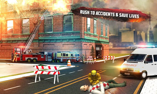 Rescue Fire Truck Simulator Driving School 2018 cheathackgameplayapk modresources generator 3