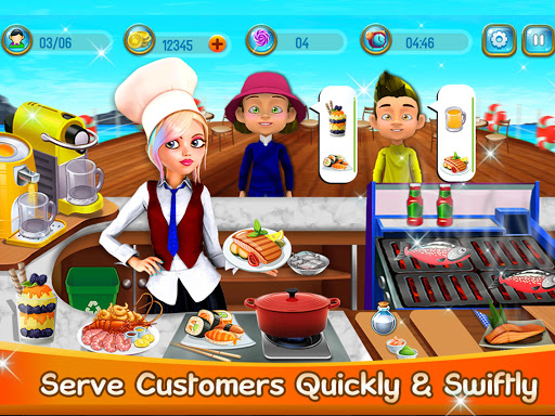 Seafood Cooking Chef – Restaurant Cooking Game 1.0.2 cheathackgameplayapk modresources generator 5