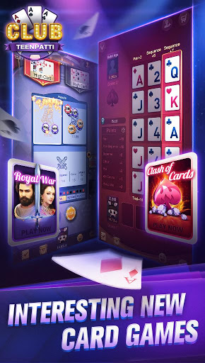 Teen Patti CLUB 3 Patti CLUB 1.4.1.15 cheathackgameplayapk modresources generator 5