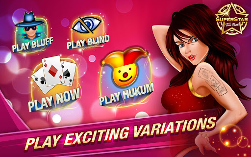 Teen Patti Online Indian Poker Superstar – 3 Patti cheathackgameplayapk modresources generator 2