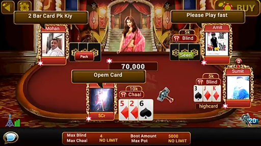 Universal Teen Patti – Indian Poker Game 0.20 cheathackgameplayapk modresources generator 2