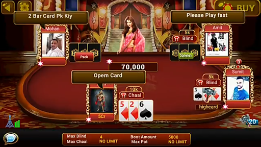Universal Teen Patti – Indian Poker Game 0.20 cheathackgameplayapk modresources generator 3