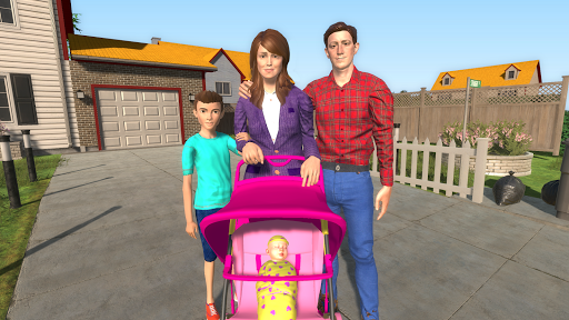 Virtual Mother Happy Family New Baby Twins 1.0.1 cheathackgameplayapk modresources generator 4