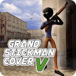 Download Grand Stickman Cover V APK, APK MOD, Cheat