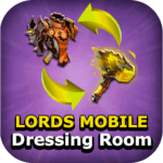 Free Download Dressing room – Lords mobile MOD APK Cheat