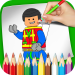 Free Download LEGO Coloring Book MOD APK Cheat