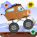 Download Monster Trucks car game for Kids APK MOD Cheat