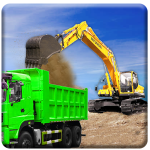 Free Download Sand Excavator Truck Driving Rescue Simulator game 4.2 APK MOD, Sand Excavator Truck Driving Rescue Simulator game Cheat