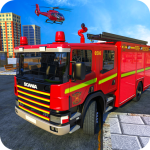 Download American FireFighter Truck : City Emergency Rescue 1.1 MOD APK, American FireFighter Truck : City Emergency Rescue Cheat