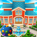 Download Home Sweet Home 3 – Cube Blast House Design Manor MOD APK Cheat