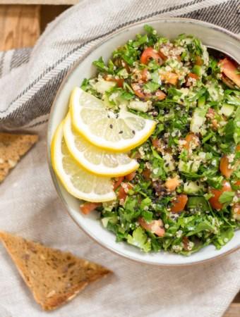Quinoa-Taboulé mit Za'atar
