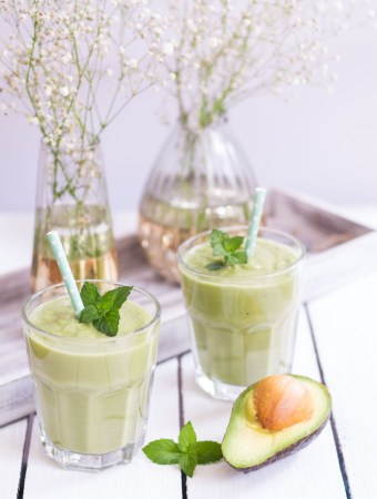 Avocadokern-Smoothie
